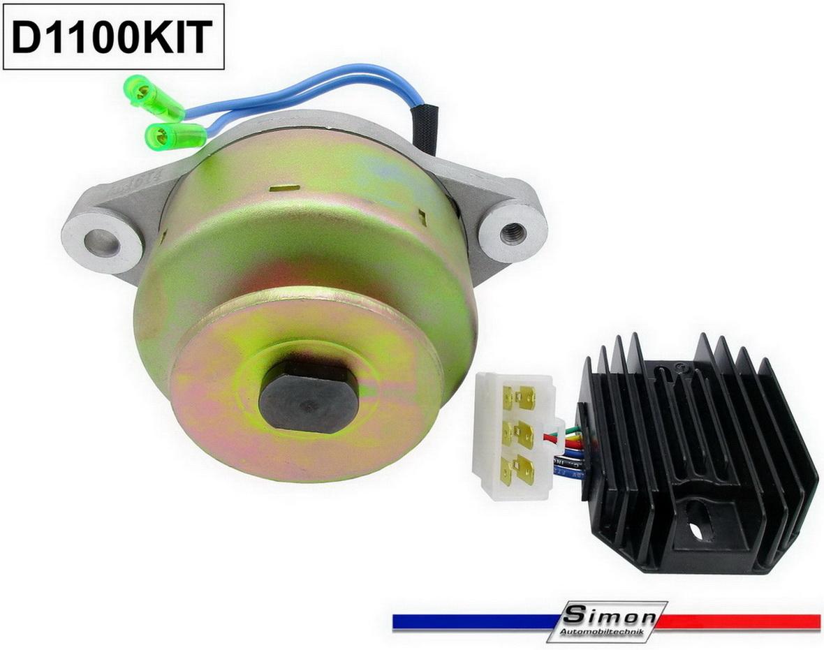 Generator Gleichstrom für Kubota mit Regler