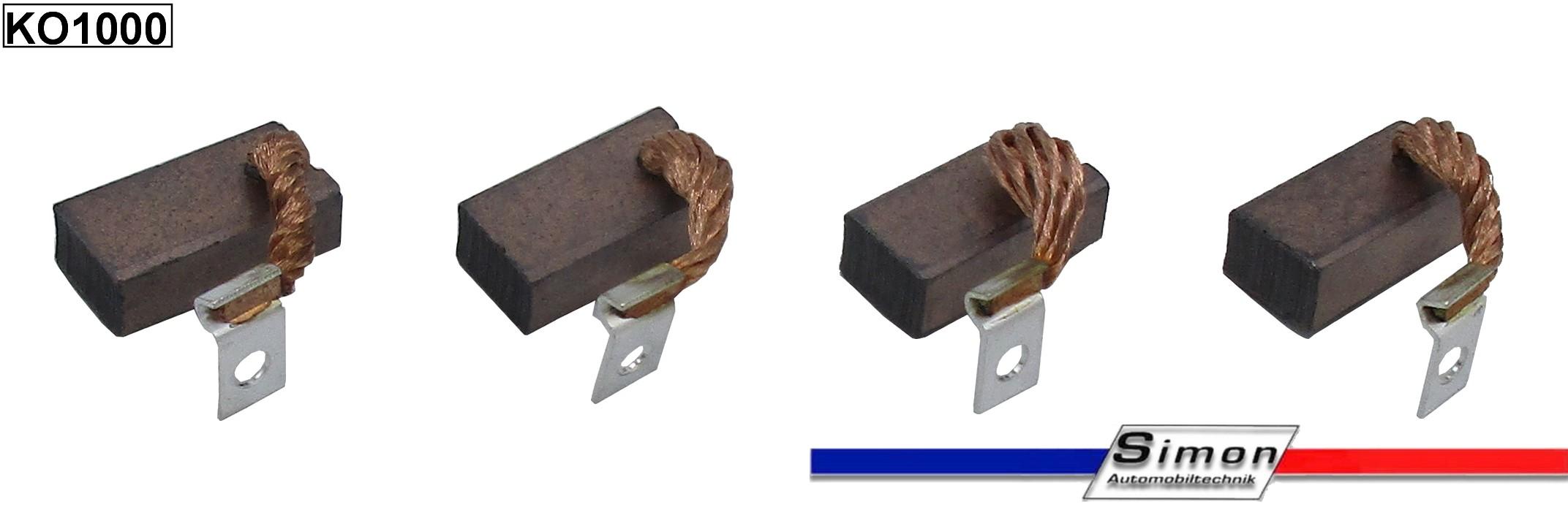 Kohlebürsten für Bosch Anlasser Starter EJD 1,8  R 78