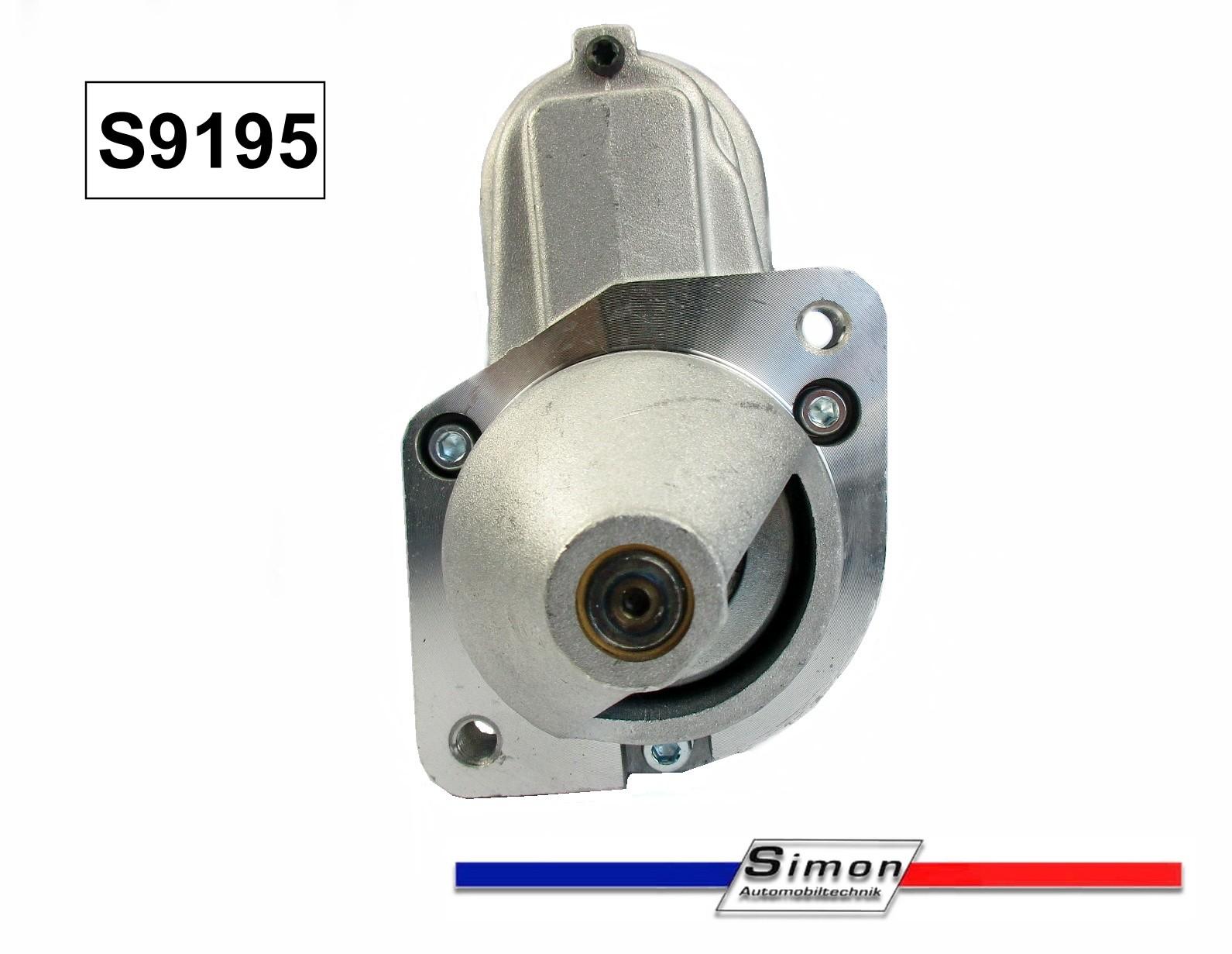 Anlasser für BMW Motorrad R45 R60 R65 R75 R80 R100 Neuteil