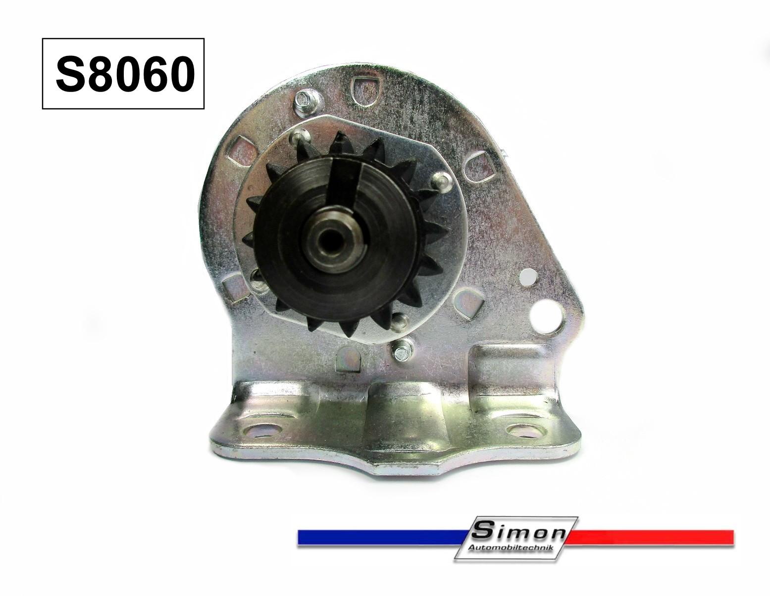 Anlasser für Briggs /& Stratton 11-16PS mit Magnetschalter und Ersatzritzel