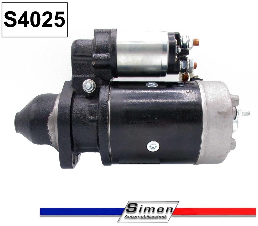 Anlasser 2,7 Kw für Bosch Fendt Lanz Farymann Lombardini MWM  EJD 1,8//12R4