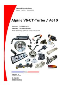 Alpine V6-GT-Turbo (D500/1/2)